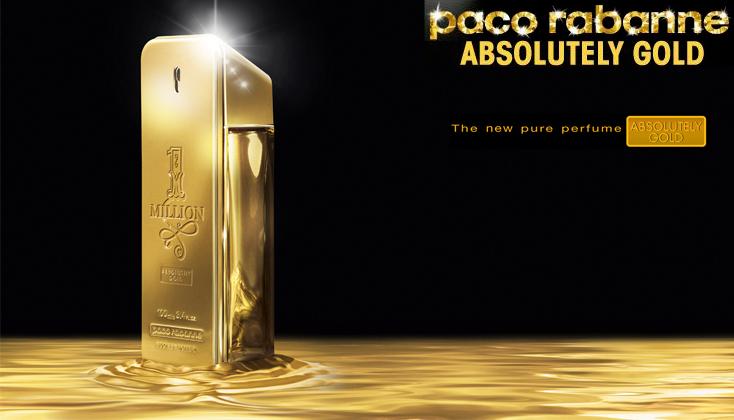 Paco Rabanne 1 Million Absolutely Gold 100ml parfum