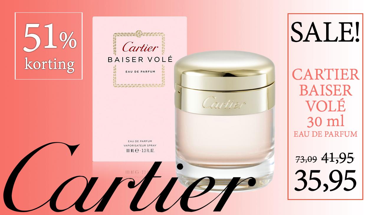 Aanbieding! Cartier Baiser Volé 30ml eau de parfum