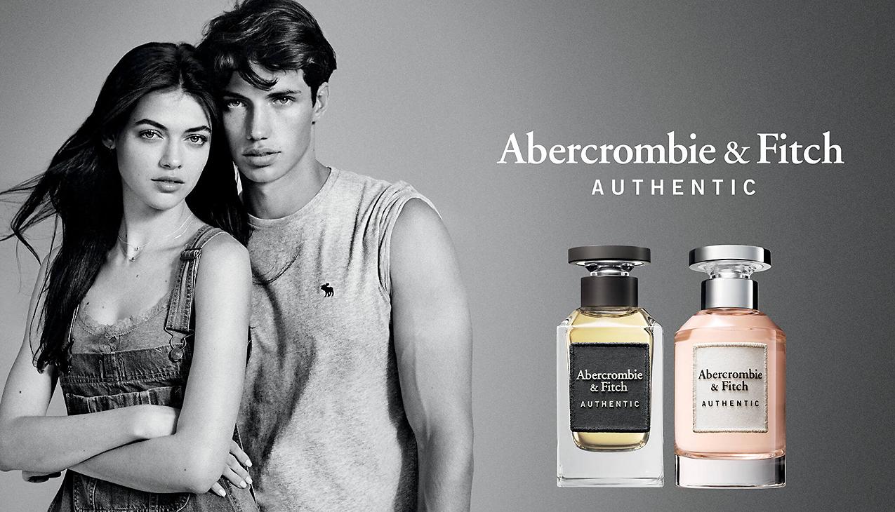 Abercrombie & Fitch Authentic; individueel, zelfverzekerd en sympathiek