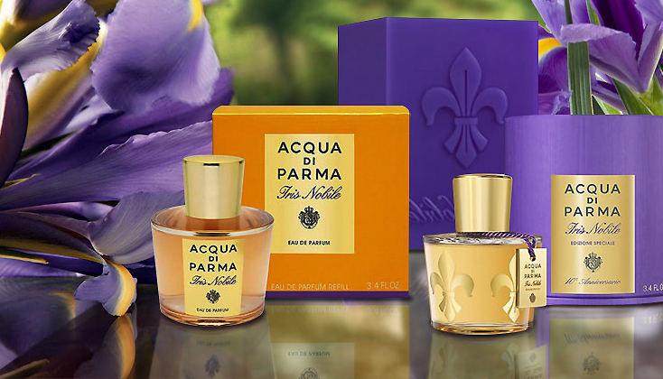 Acqua di Parma Iris Nobile; een floraal parfum met een uniek karakter