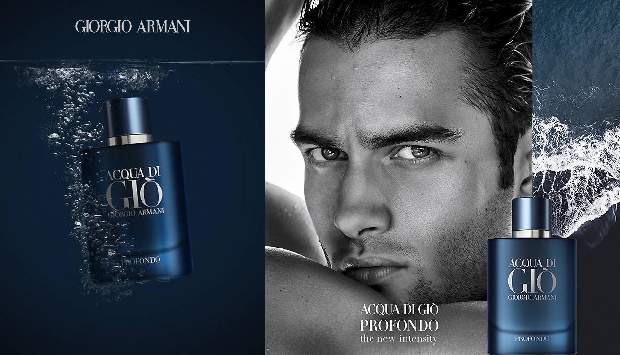 Armani Acqua di Giò Profondo; de nieuwe intensiteit