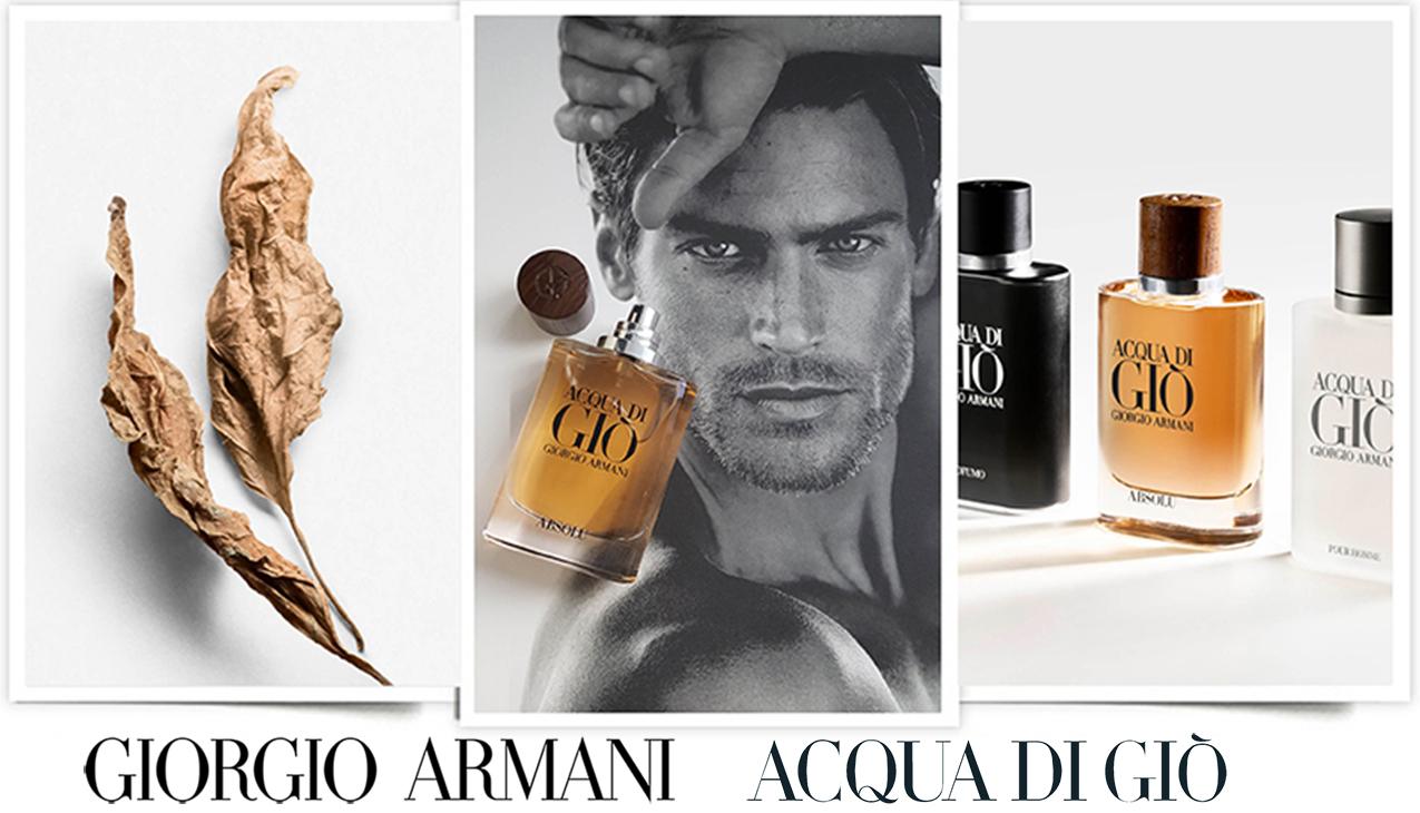 Armani Acqua di Gio Absolu; de nieuwe sensualiteit