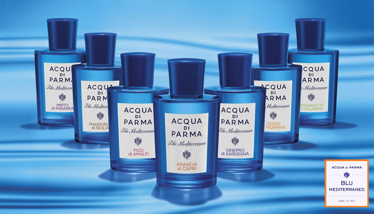 Acqua di Parma Blu Mediterraneo; een serie frisse geuren voor mannen en vrouwen