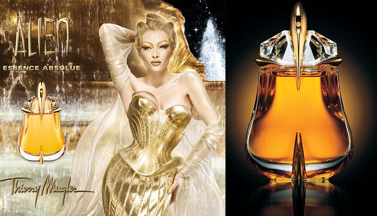 Thierry Mugler Alien Essence Absolue, sensuele nectar in een gouden druppel