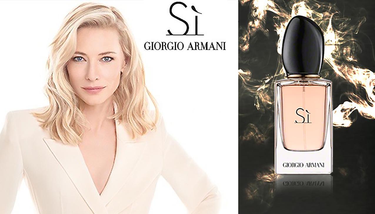 Armani Sì eau de parfum; een eerbetoon aan moderne vrouwelijkheid