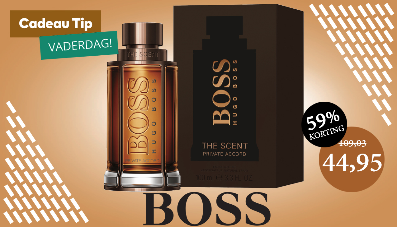 Nu 59% korting! Boss The Scent Private Accord for Him 100ml edt