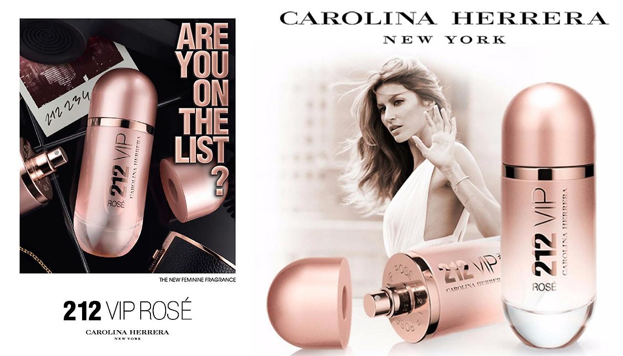 Carolina Herrera 212 VIP Rosé; are you on the list?