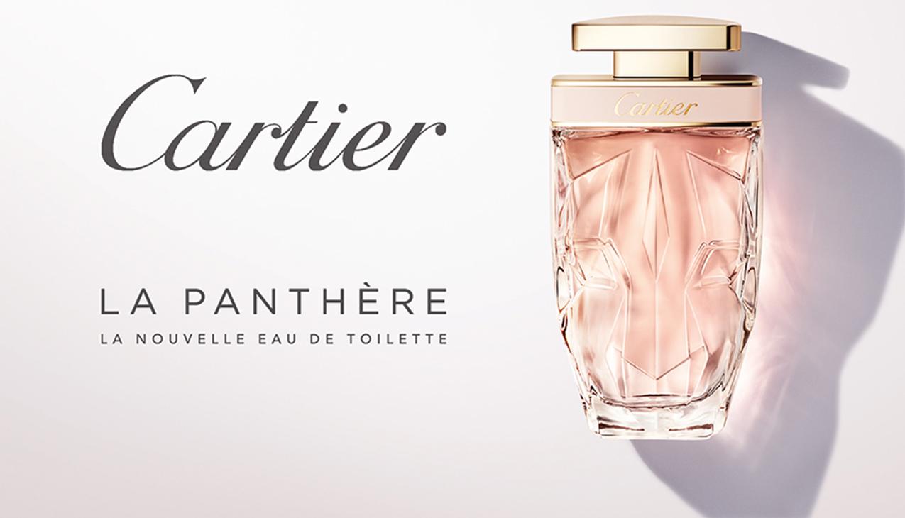 La Panthère Eau de Toilette; de nieuwe frisse florale interpretatie