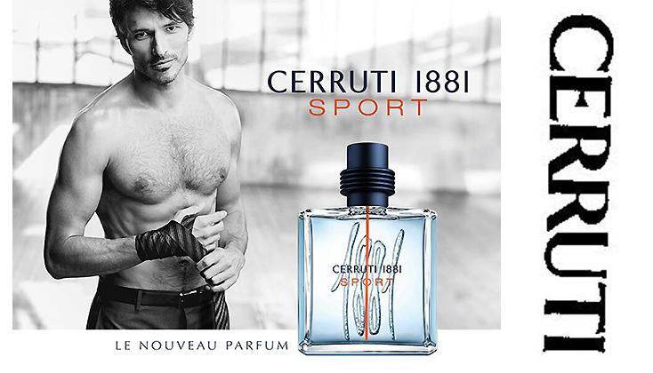 Cerruti 1881 Homme Sport; een ultra-mannelijke geur
