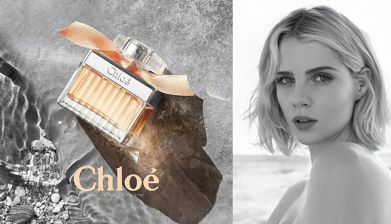 Chloé Rose Tangerine belichaamt vrijheid, lichtheid en vrouwelijkheid