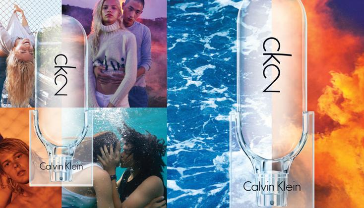 Calvin Klein CK2: uitbundig, intiem en contrasterend