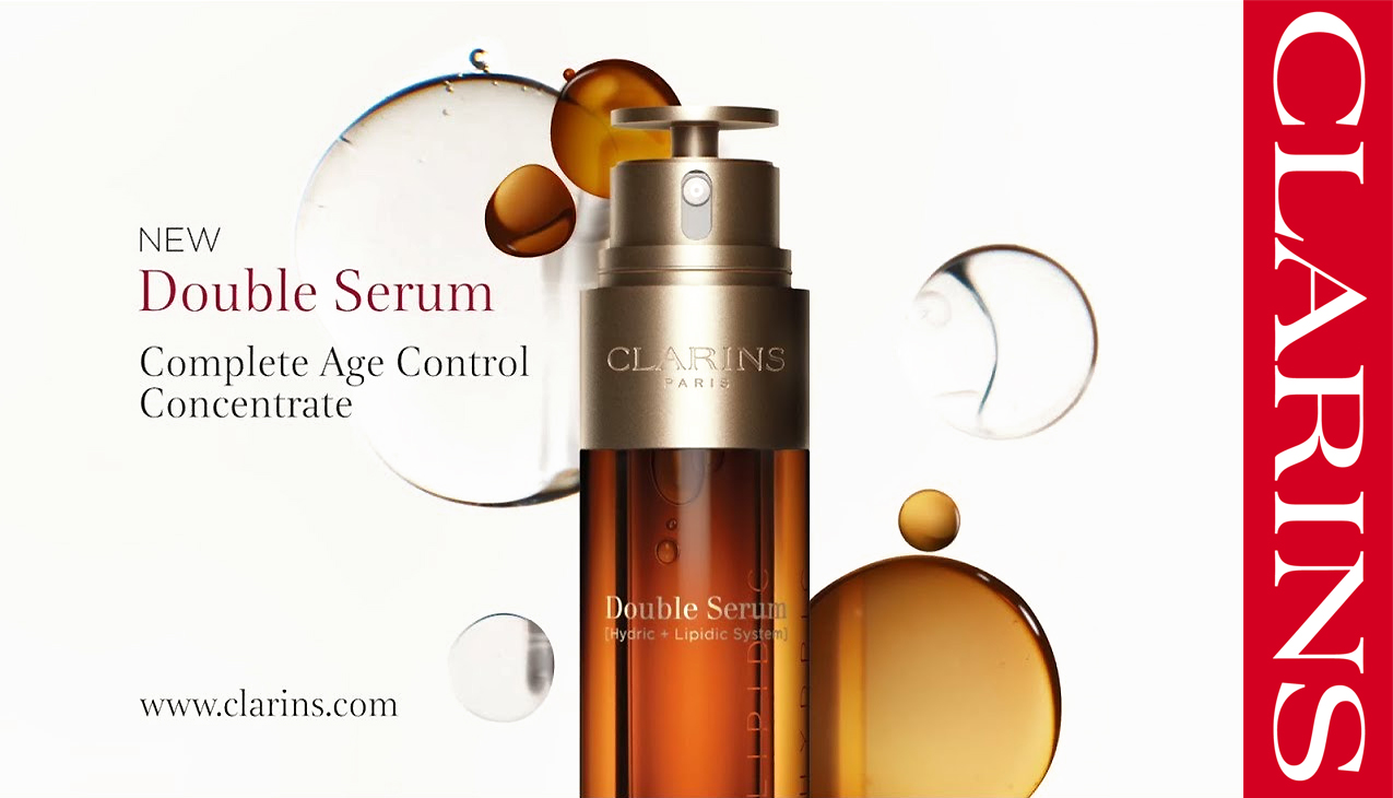 Double Serum; Clarins meest krachtige complete anti-age serum