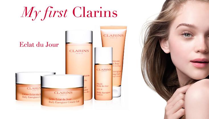 My first Clarins; Clarins Eclat du Jour