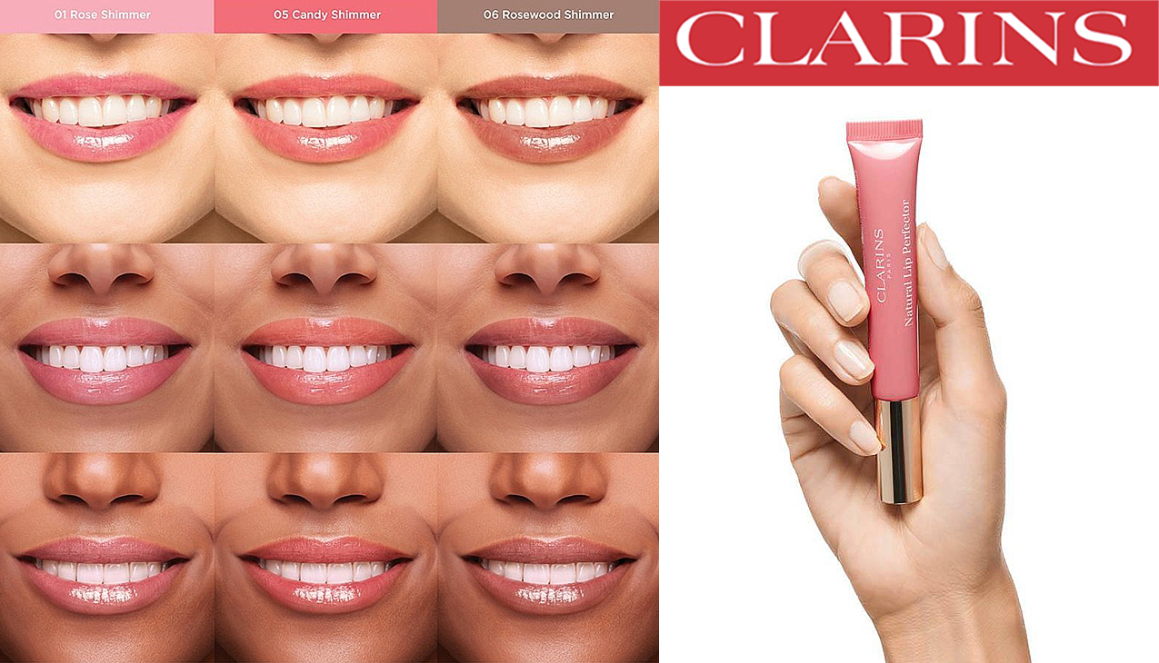 Clarins Natural Lip Perfector Duo Set