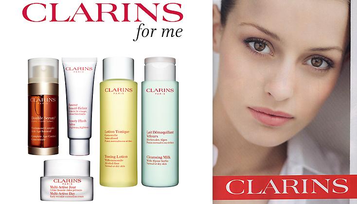 Clarins, dé expert in huidverzorging