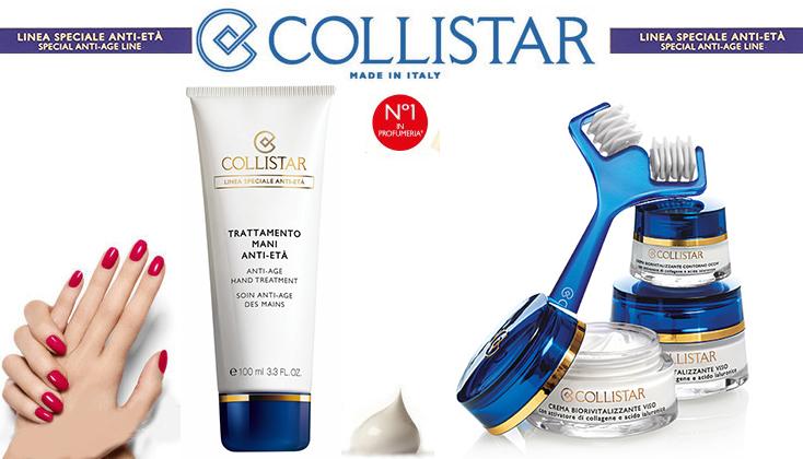 Collistar Anti Age; bestrijdt alle symptomen van de ouder wordende huid