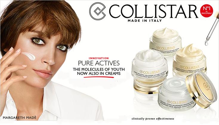 Collistar Pure Actives; voor een voelbaar jongere huid