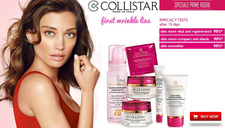 Collistar Special First Wrinkles; bestrijdt eerste tekenen van huidveroudering