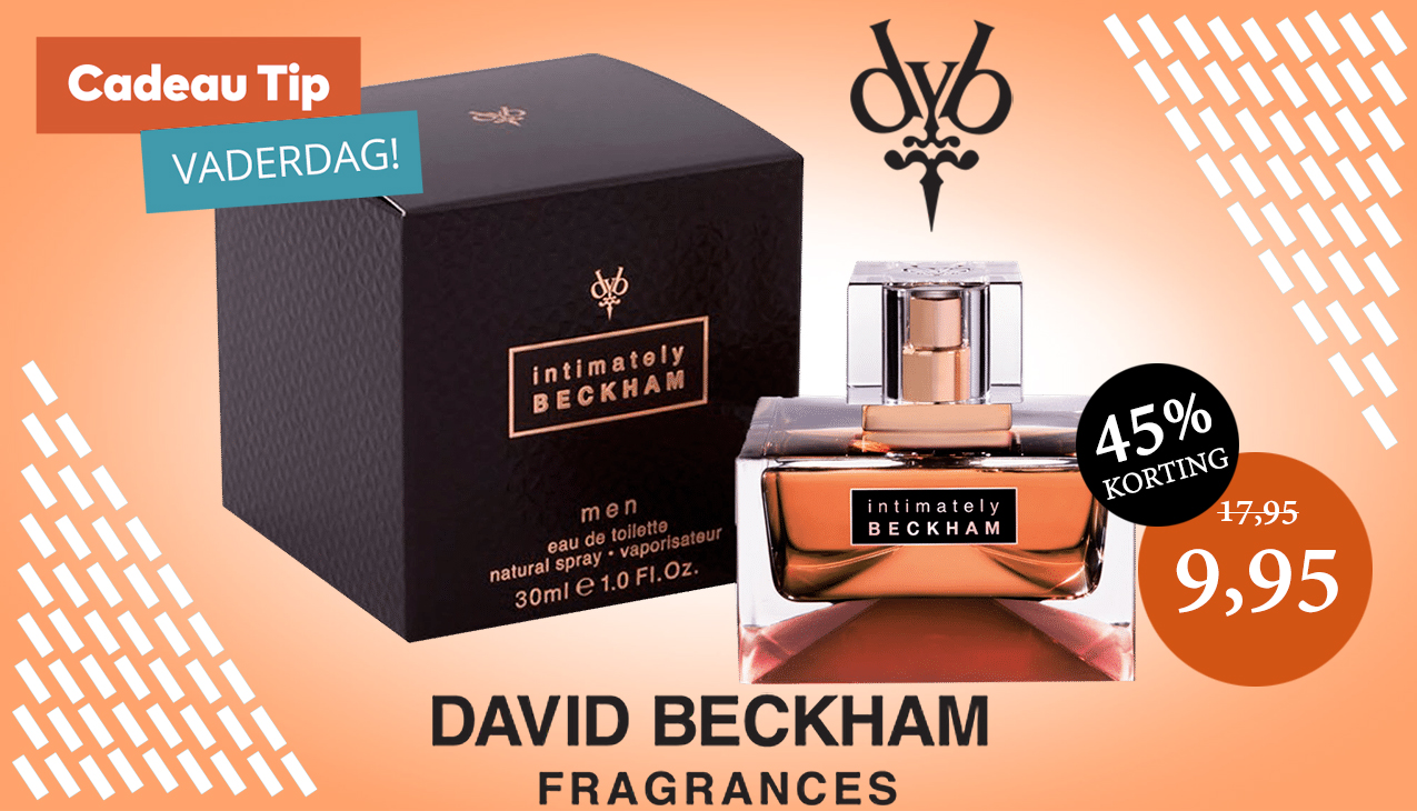 Aanbieding! David Beckham Intimately Men 30ml eau de toilette