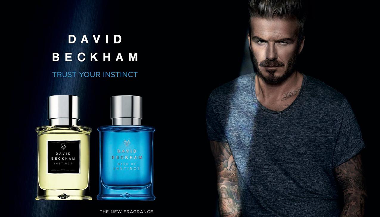 David Beckham Made Of Instinct; levendig en energiek