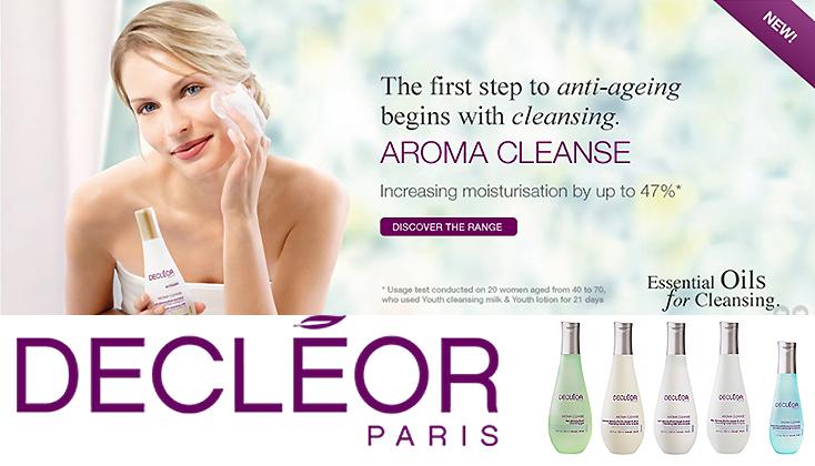 Decleor Aroma Cleanse; reinigt, kalmeert en voedt  optimaal