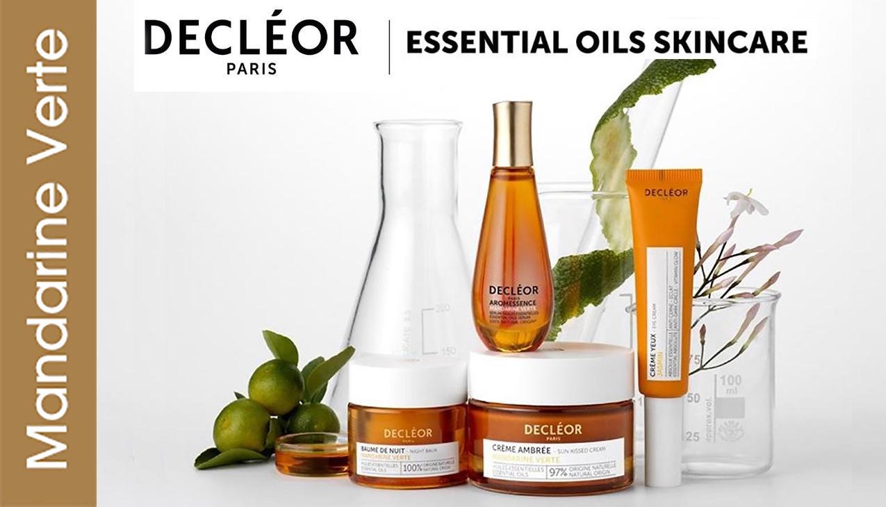 Decleor Green Mandarin; Farmaceutische kwaliteit essentiële oliën - professionele formulering