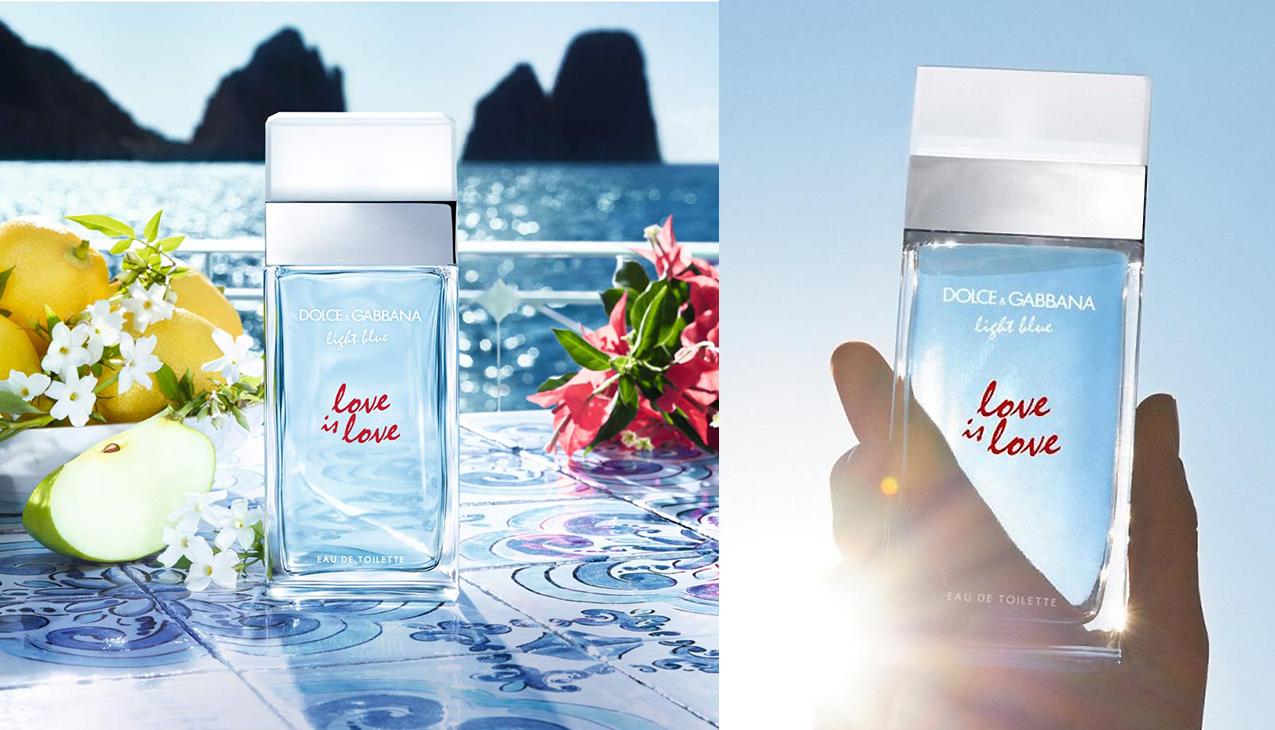 D&G Light Blue Love Is Love; Overweldigende kracht van liefde