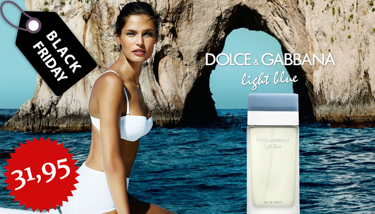 Aanbieding! Dolce & Gabbana Light Blue Woman 50ml edt 61% korting!