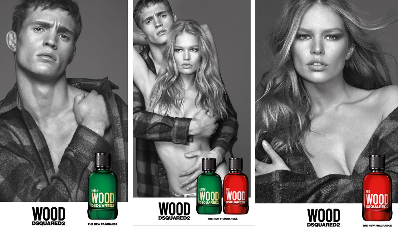 Dsquared² Red Wood & Green Wood; avontuurlijke parfums met een eigentijdse geest.