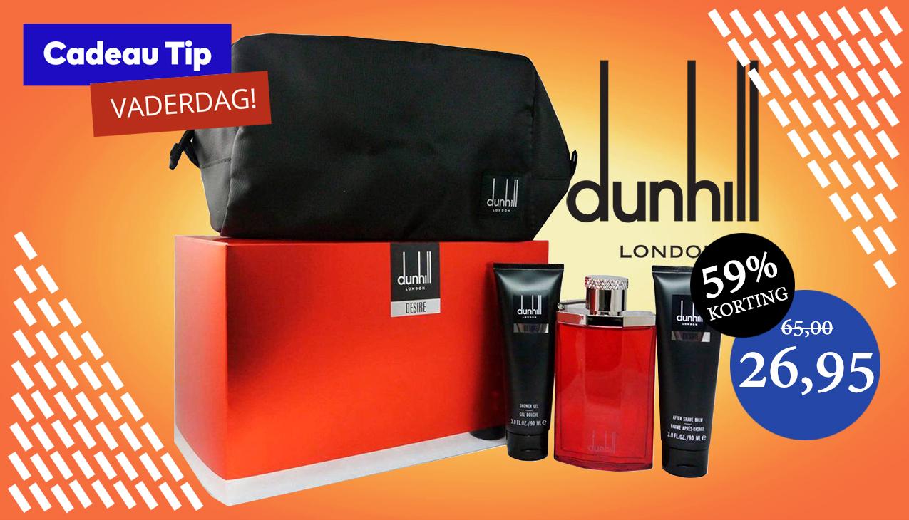 Vaderdag Aanbieding! Dunhill Desire Red for Men Set
