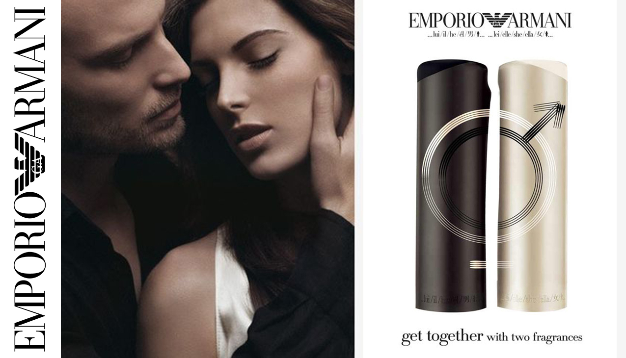 Armani Emporio He; Erotisch, verfijnd en dynamisch