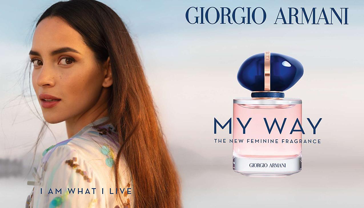 Nieuw! Armani My Way; een tijdloze en elegante compositie voor de moderne vrouw