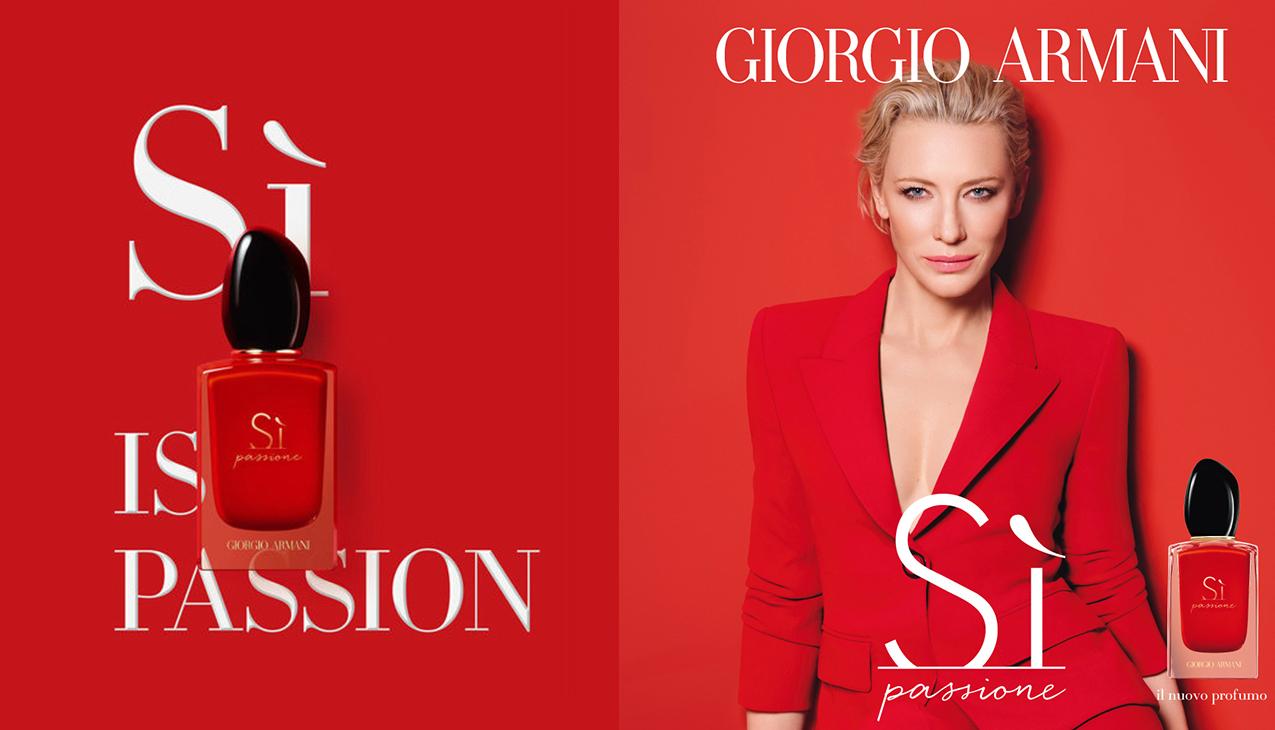 Giorgio Armani Si Passione; zekerheid die je kunt dragen