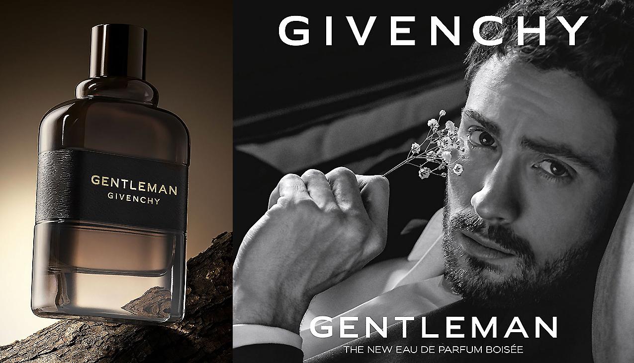 Givenchy Gentleman Eau de Parfum Boisée; versterkt de sensualiteit van elke gentleman