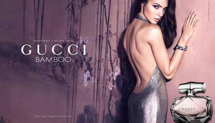 Underneath it all she wears is .... Gucci Bamboo eau de parfum