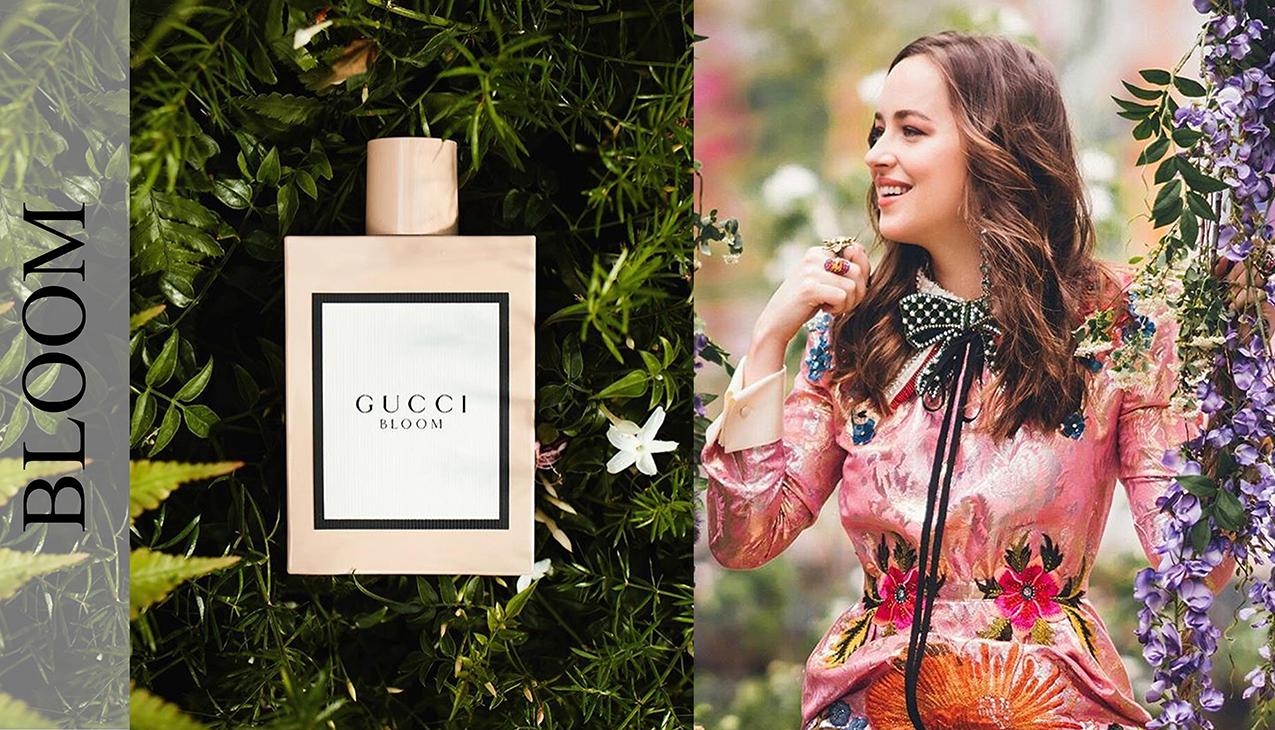 Gucci Bloom vervoert je naar een denkbeeldige bloeiende tuin