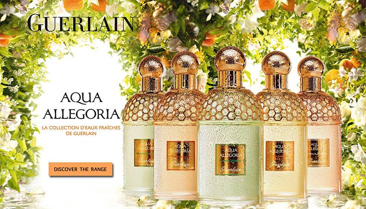 Aqua Allegoria; de collectie frisse geuren van Guerlain