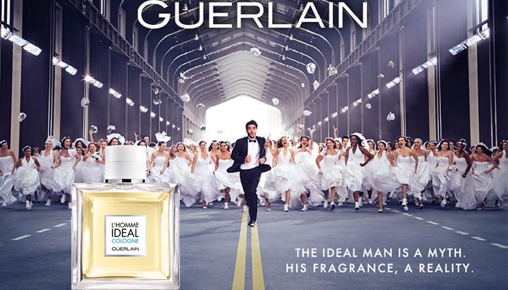 Guerlain L'Homme Ideal; de ideale man is een mythe. Zijn parfum, een realiteit