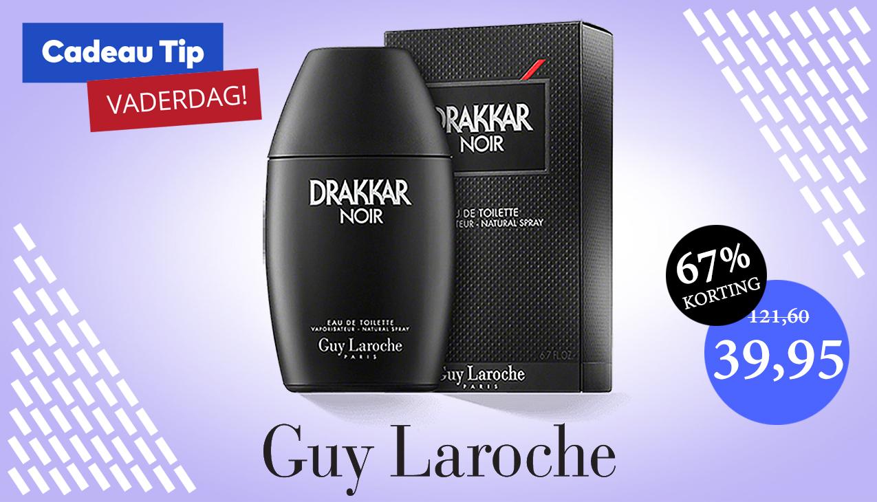 Aanbieding! Guy Laroche Drakkar Noir 200ml eau de toilette