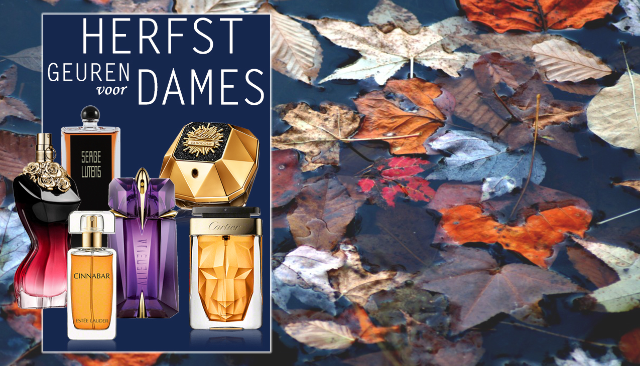 De herfst is in aantocht! Kruidige, krachtige en zoete geuren, zullen je hart verwarmen