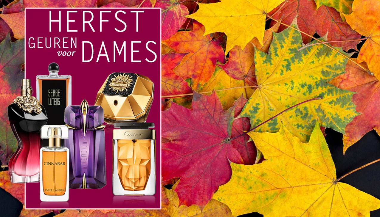 Bekijk ons ruime assortiment geuren die zeer geschikt zijn voor de herfst
