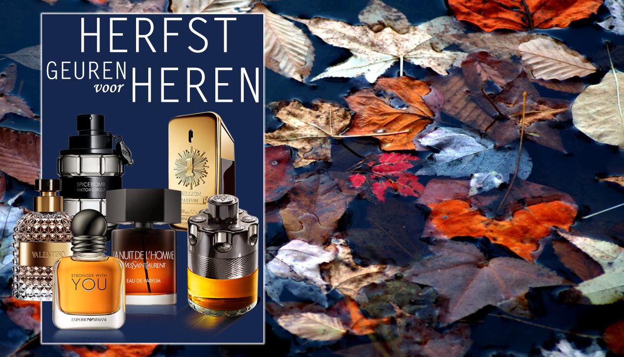 HERFST! een heerlijke geur voor het nieuwe seizoen!
