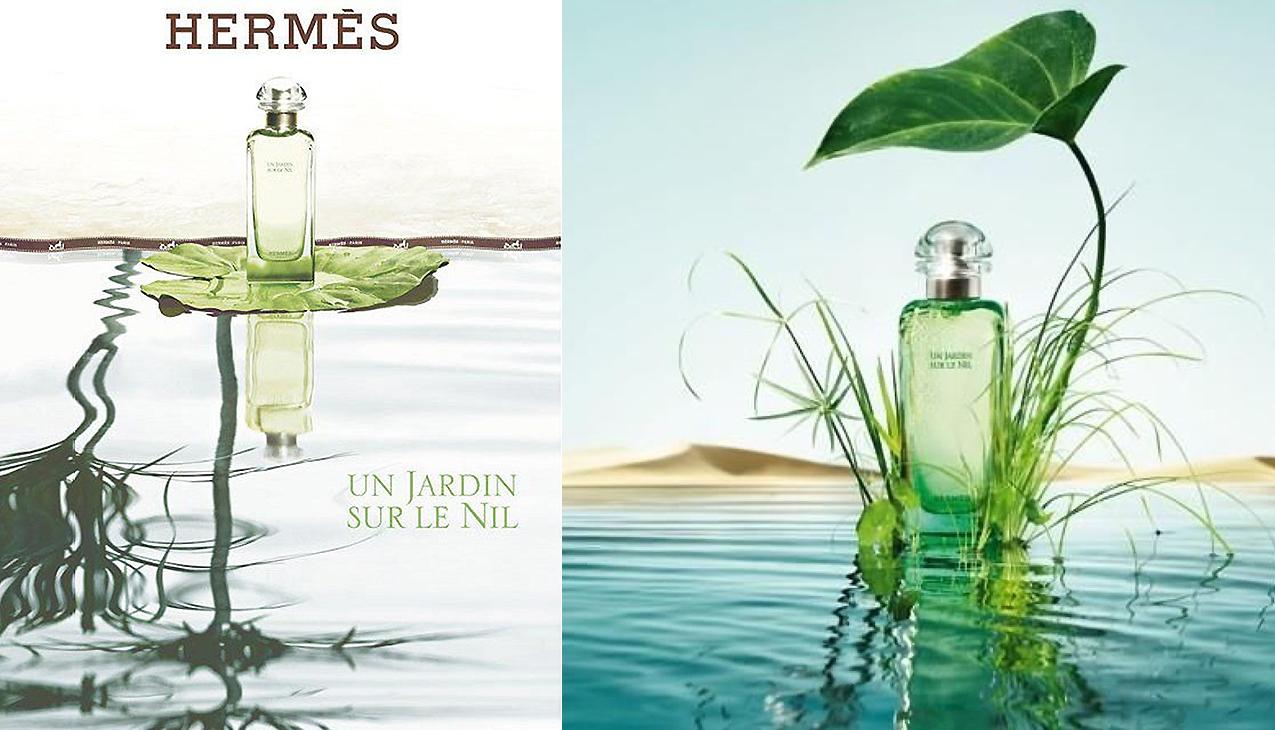 Hermes Un Jardin Sur le Nil; het parfum van licht en leven, gul en sprankelend