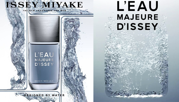 Issey Miyake L'Eau Majeure d'Issey; Designed by water