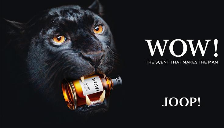 Nieuw! JOOP WOW The scent that makes the man