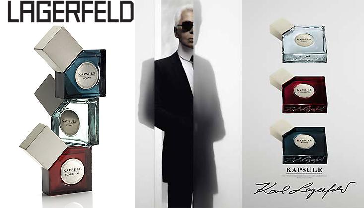 Karl Lagerfeld Kapsule; unisex geuren als 'muziek voor de neus'