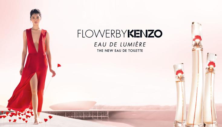 Flower by Kenzo Eau de Lumiere, een geurige sluier van licht