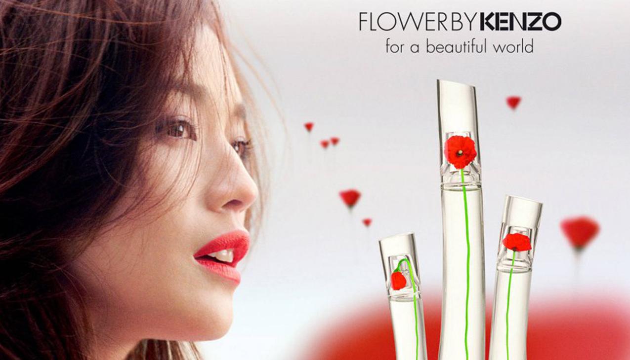 Kenzo Flower; de kracht van een sterke, pure en sensuele bloem.