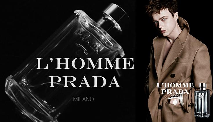 L'Homme Prada weerspiegelt de dualiteit van de mannelijke identiteit
