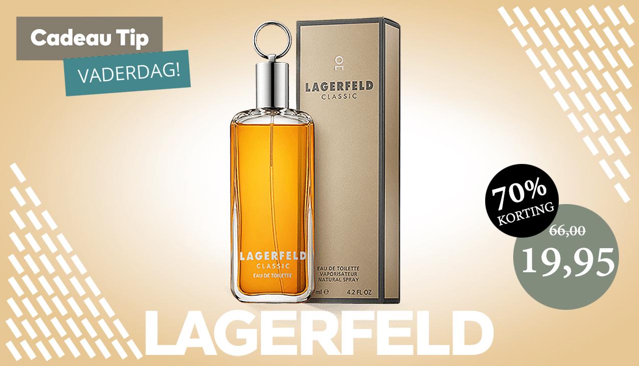 Aanbieding! Lagerfeld Classic 100ml eau de toilette